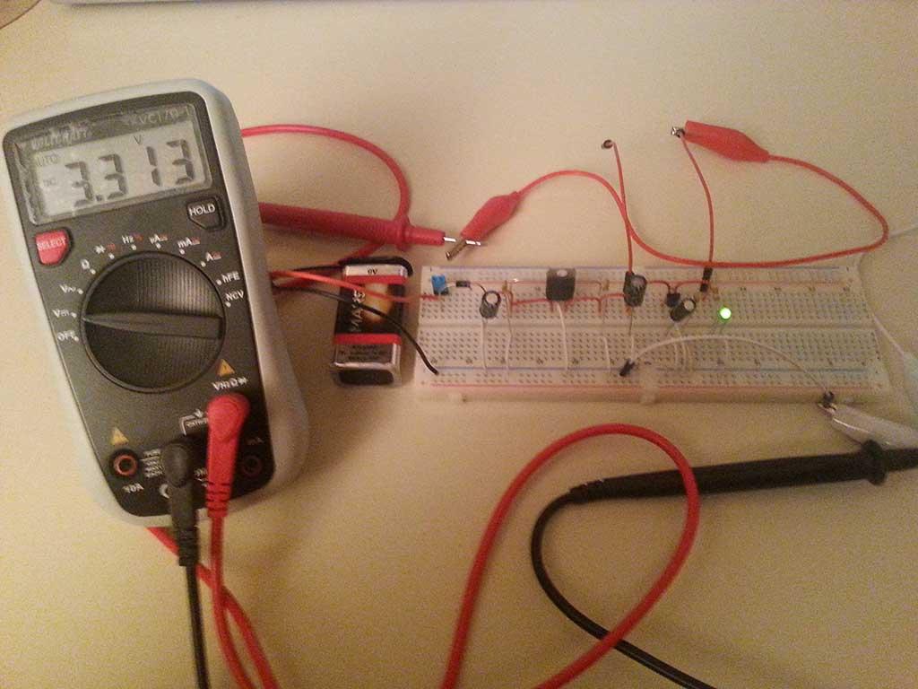 Spannungsregler 9V->5V->3.3V - kollino.de