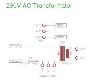 230V AC Transformator